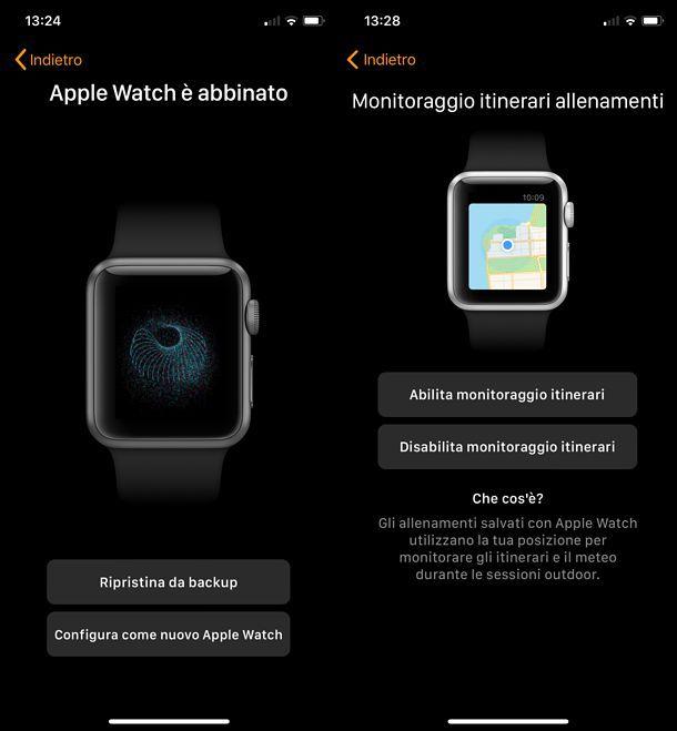 Come configurare Apple Watch