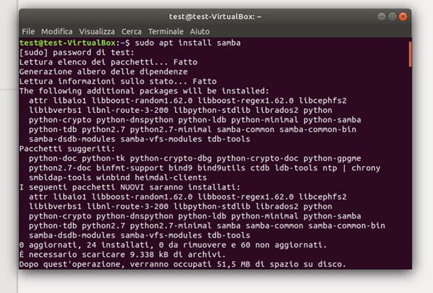 Creare una rete domestica con Linux