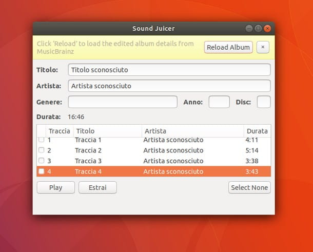 Copiare un CD audio su chiavetta USB con Linux