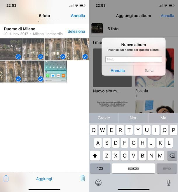 Come archiviare le foto su iPhone