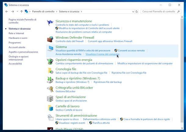 Come vedere versione Windows