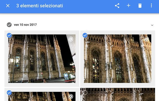 Come eliminare foto da Google Foto su PC