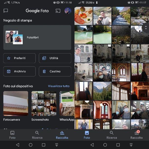 Google Foto su Android