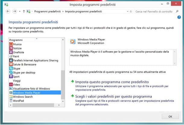 Come aprire un file con un dato programma
