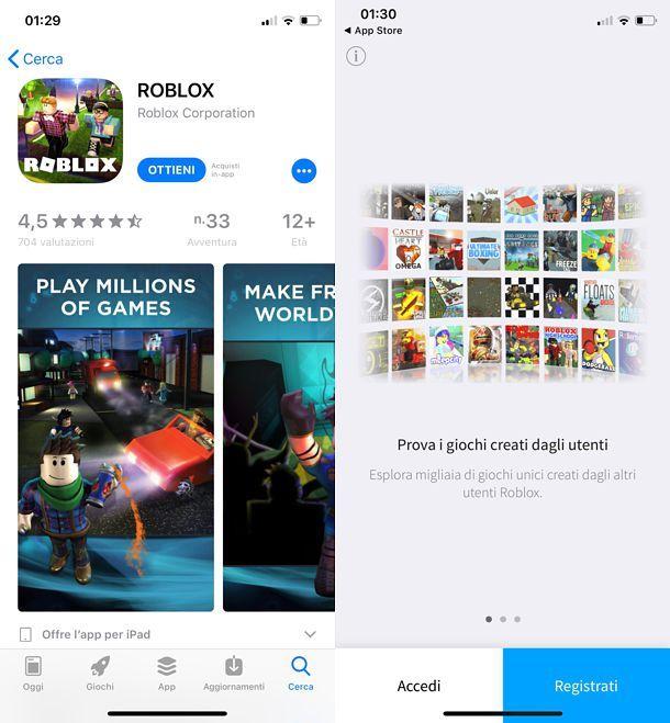 Come scaricare Roblox su iOS