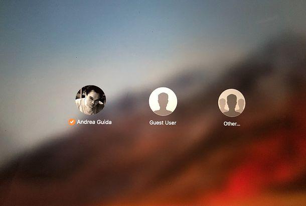 Come nascondere un utente su macOS
