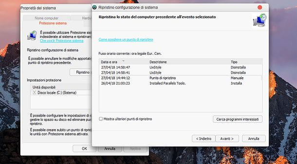 Disinstallare macOS Transformation Pack
