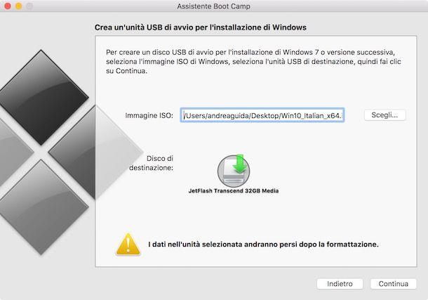 Come aprire file exe su Mac - Boot Camp