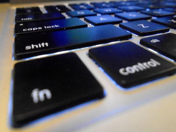 Come attivare i tasti funzione della tastiera