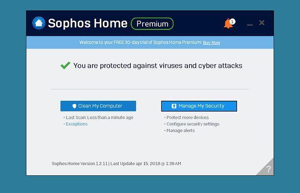 Come disattivare antivirus Sophos