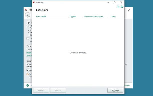 Come disattivare antivirus Kaspersky