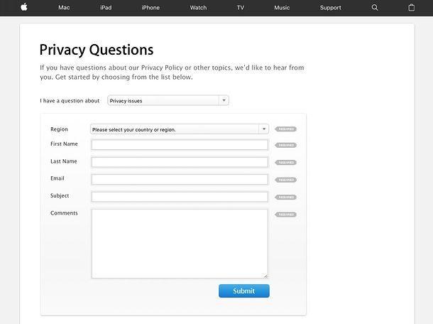 Come trovare ID Apple