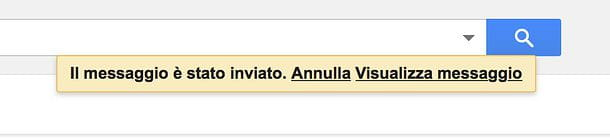 Come richiamare una mail Gmail