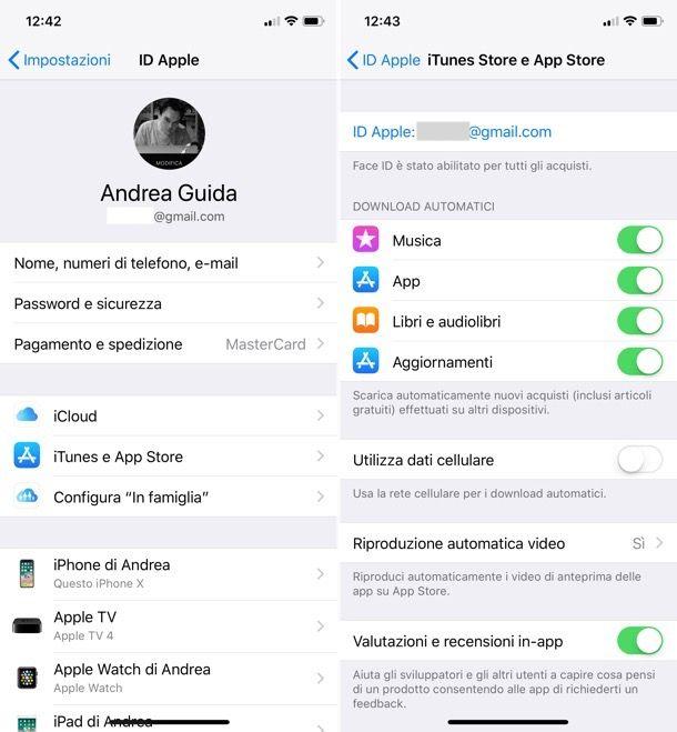 Come trovare ID Apple su iOS