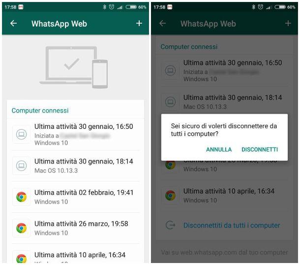 come fare per non farsi spiare su whatsapp