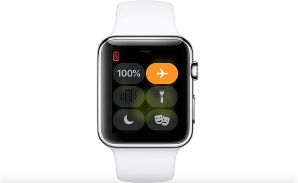 Modalità aereo Apple Watch