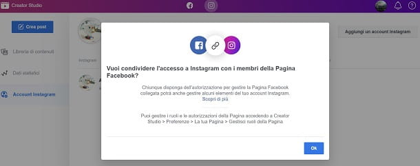 Come postare su Instagram da Facebook