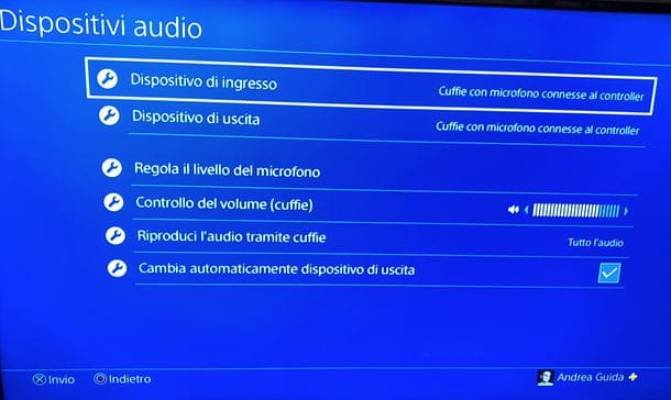 Cuffie con cavo PS4