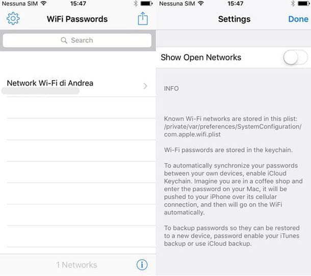 Come bypassare password WiFi iOS