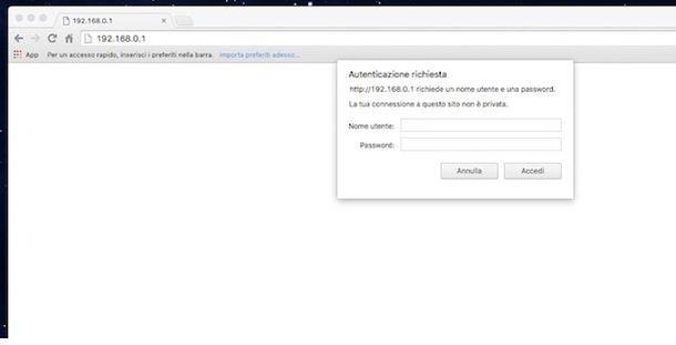 Accesso router