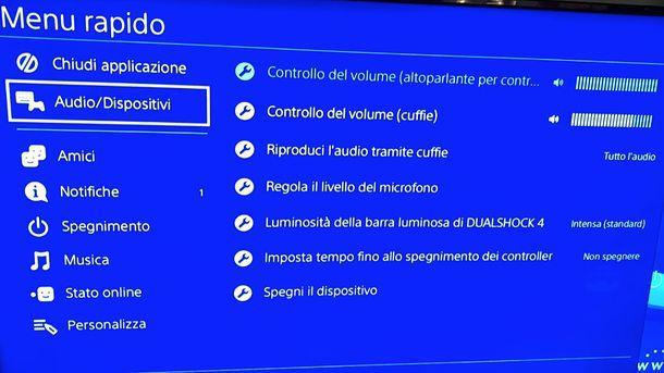 Come collegare le cuffie alla PS4
