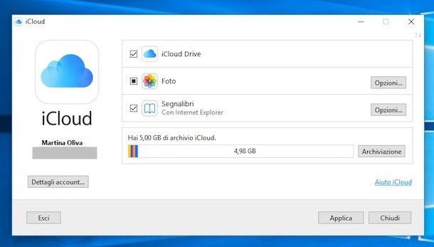 Come vedere cosa c'è su iCloud