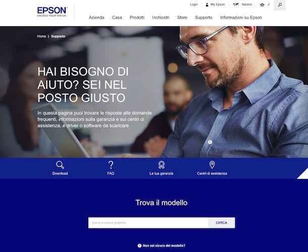 Come cambiare cartucce stampante Epson
