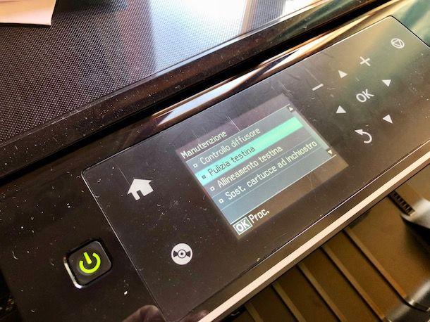 Come pulire le testine della stampante