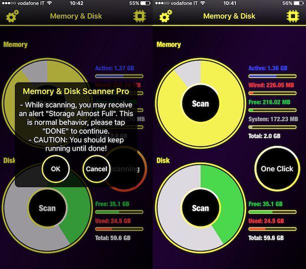 App per liberare la RAM su iPhone