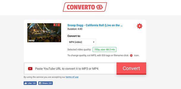 video da youtube modificando lindirizzo url