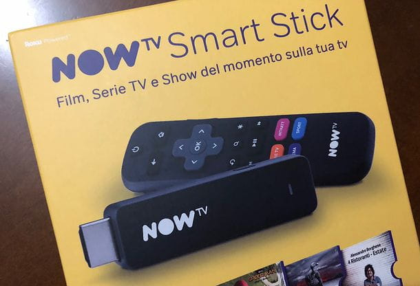 Requisiti NOW TV Smart Stick