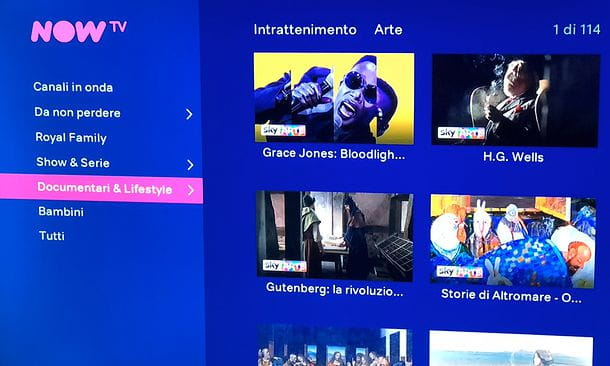 Intrattenimento NOW TV Smart Stick