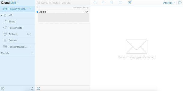 Come attivare IMAP iCloud