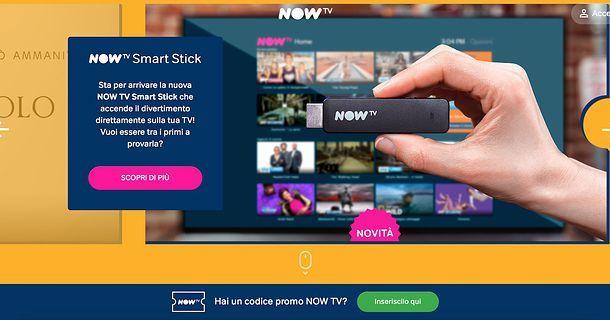 Attivazione NOW TV