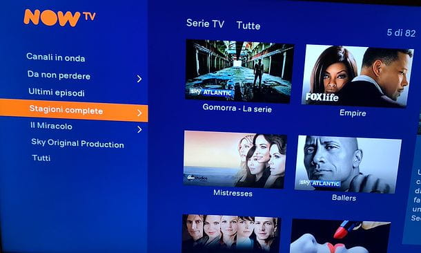 Serie TV NOW TV Smart Stick