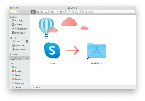 Skype Mac installazione
