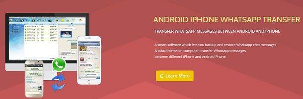 Come Trasferire Le Chat Di Whatsapp Da Android A Iphone Salvatore Aranzulla