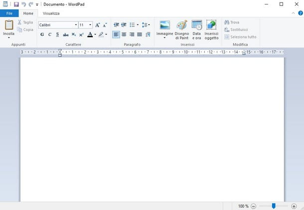 Come aprire file DOC sul PC - WordPad