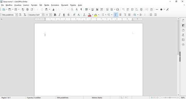 Come aprire file DOC - LibreOffice Writer