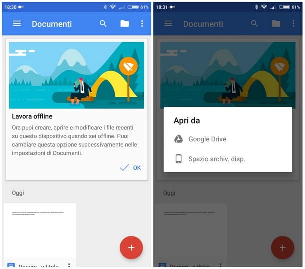 Come aprire file DOC su smartphone e tablet - Documenti Google