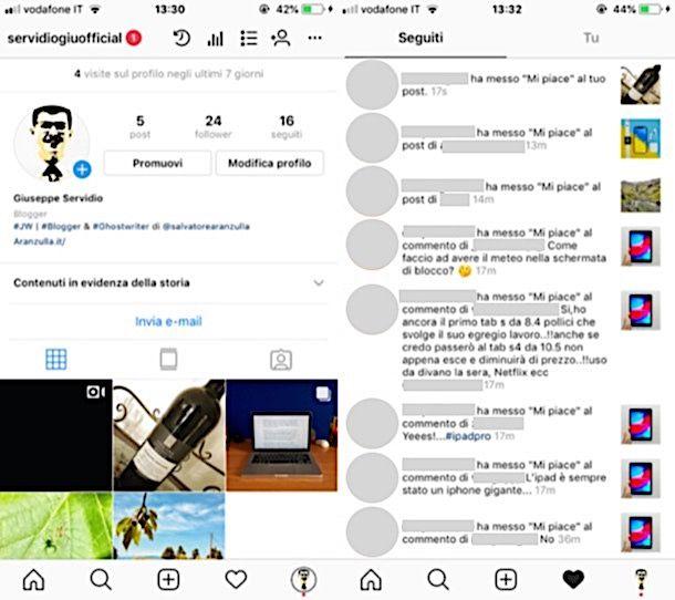 Come vedere chi è online su Instagram