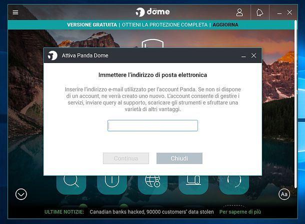 Installazione Panda VPN