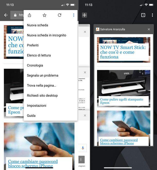 Come attivare i cookie su Chrome per iPhone