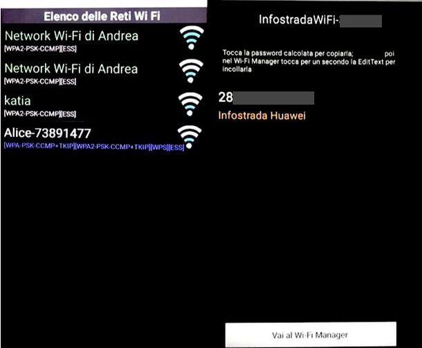 Come vedere la password del WiFi dal telefono