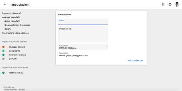 Creare Calendario Condiviso.Come Condividere Calendario Google Salvatore Aranzulla