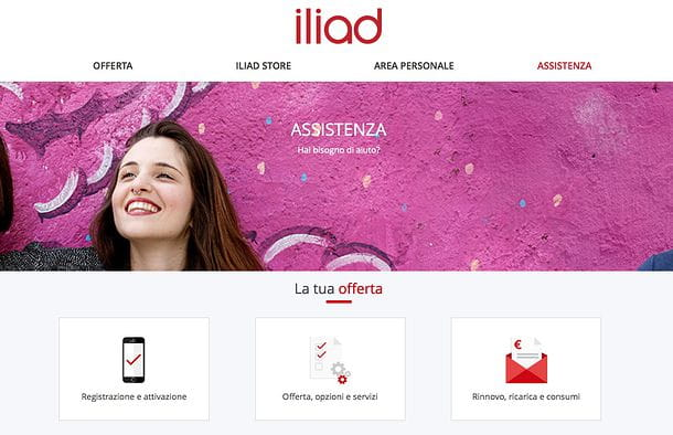 Assistenza Iliad