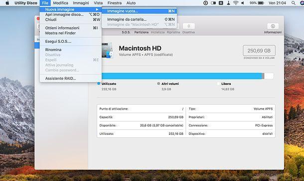 Come proteggere una cartella Mac con Utility Disco