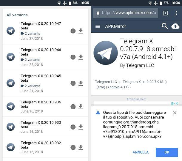 Come annullare un aggiornamento app | Salvatore Aranzulla