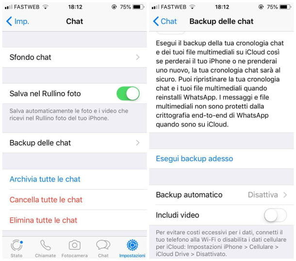 Come non perdere le chat di WhatsApp cambiando iPhone