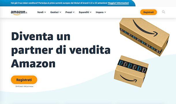 Come vendere su Amazon da privato
